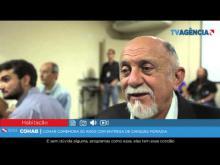 Embedded thumbnail for Cohab comemora 50 anos com entrega de Cheques Moradia
